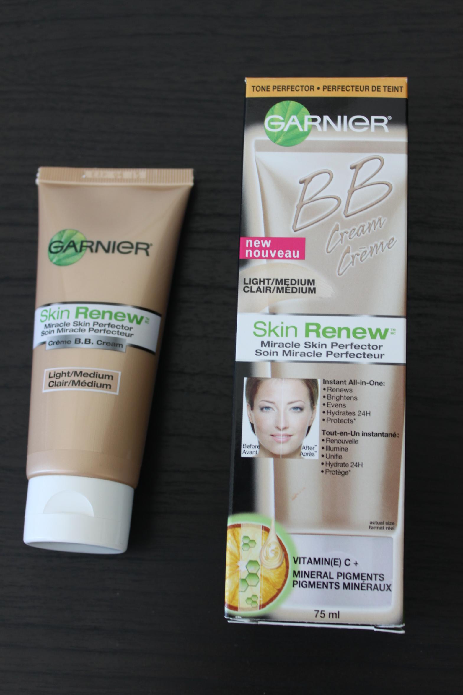 BB Cream Review: Garnier Miracle Skin Perfector
